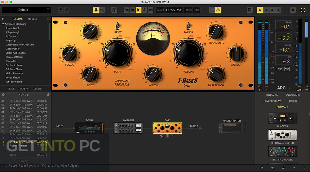 IK Multimedia T-RackS 5 VST Complete Offline Installer Download-GetintoPC.com