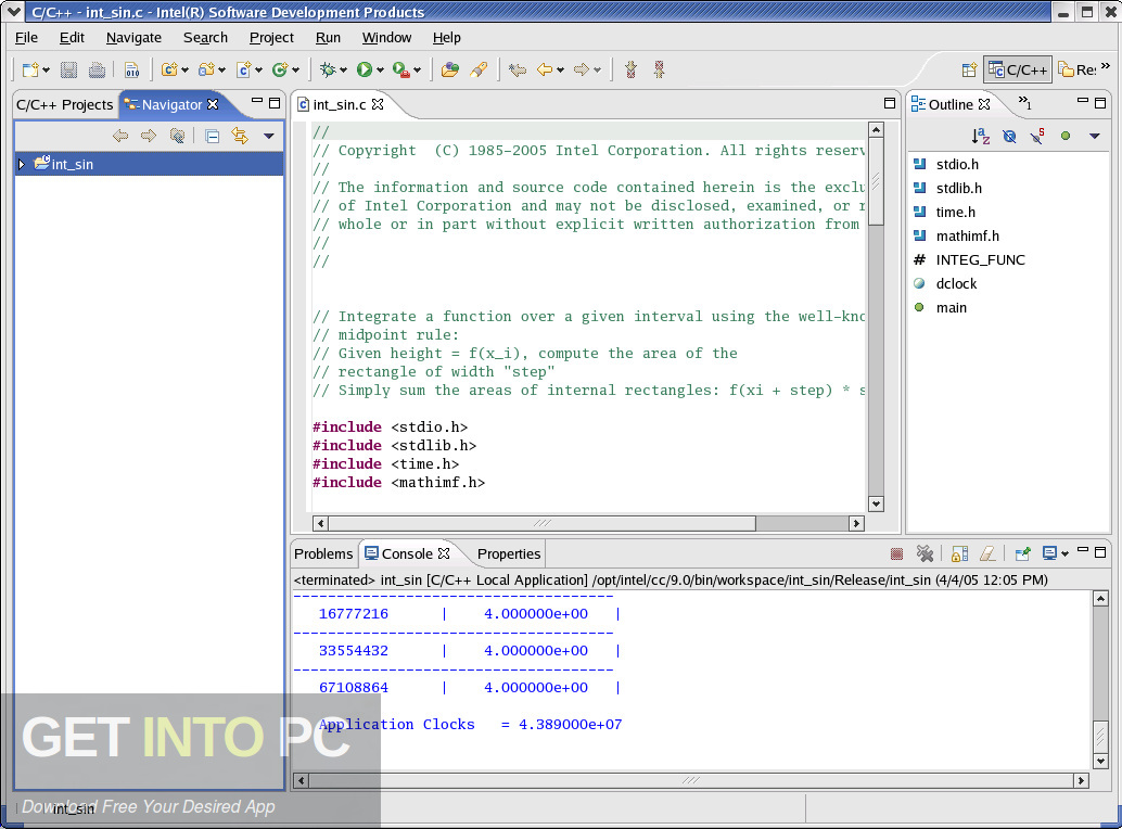intel c++ compiler free download for windows 7