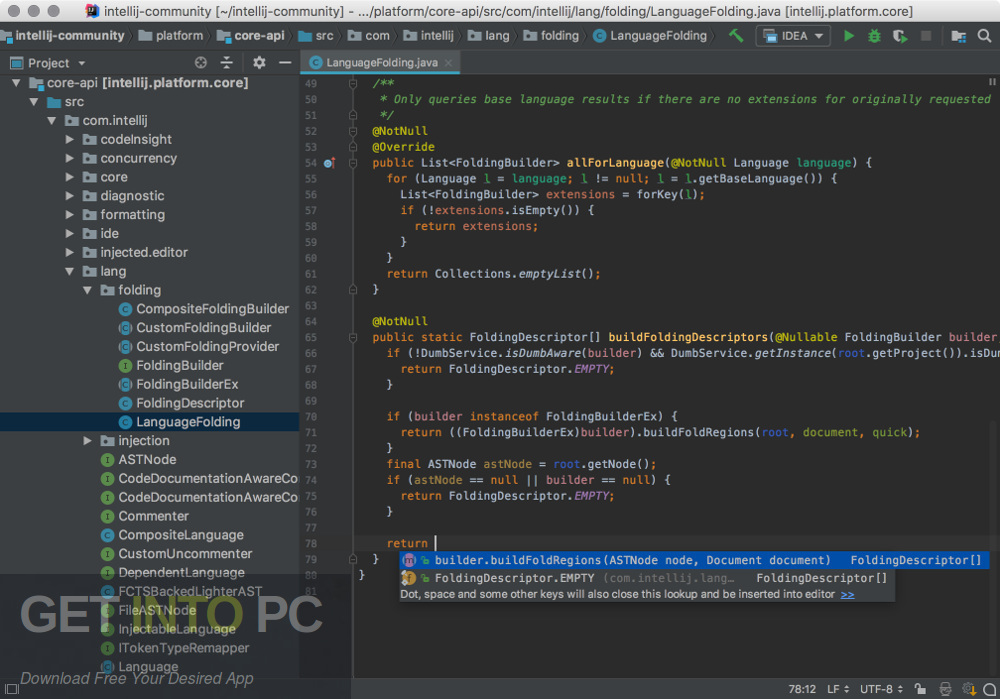 JetBrains PyCharm Pro 2018 for Mac Direct Link Download-GetintoPC.com