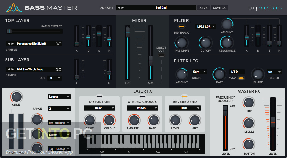 Loopmasters Bass Master VST Plugin Latest Version DOwnload-GetintoPC.com