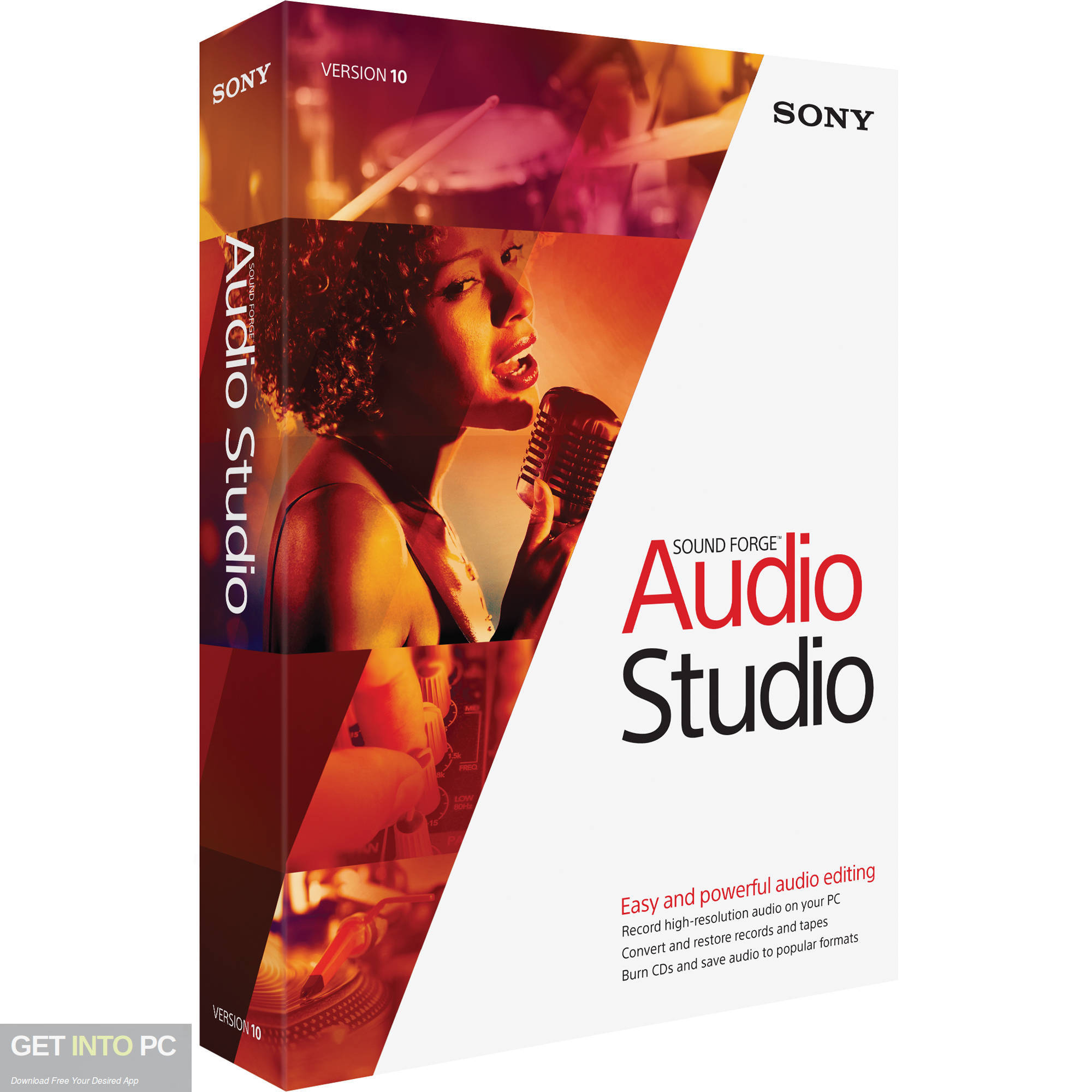 MAGIX SOUND FORGE Audio Studio 2019 Free Download-GetintoPC.com