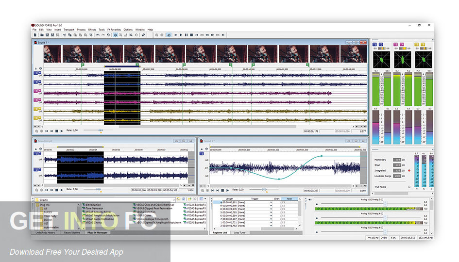 MAGIX SOUND FORGE Audio Studio 2019 Latest Version Download-GetintoPC.com