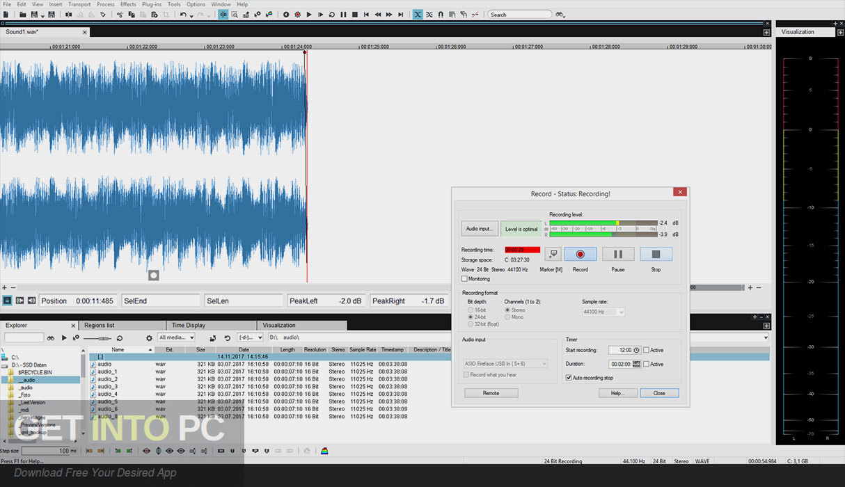 MAGIX SOUND FORGE Audio Studio 2019 Offline Installer Download-GetintoPC.com