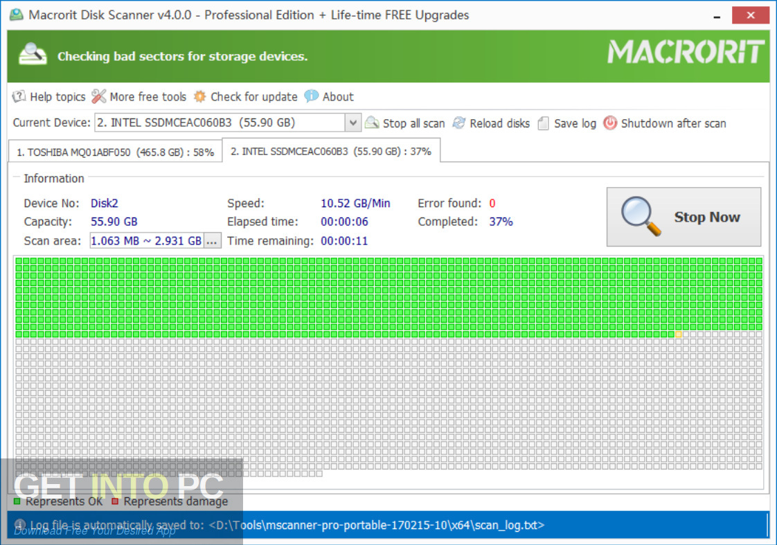 Macrorit Disk Scanner Latest Version Download-GetintoPC.com