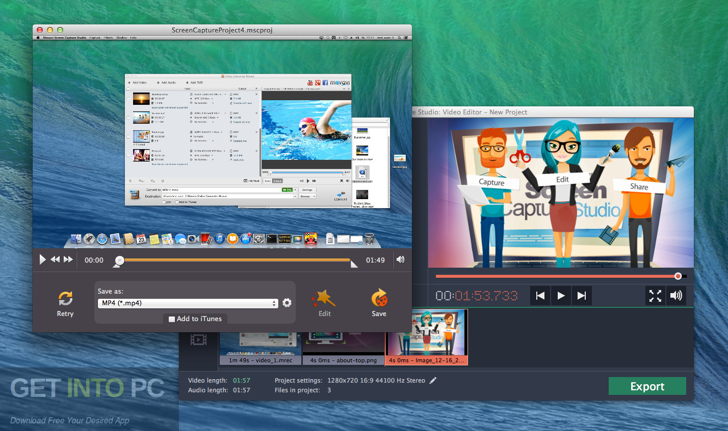 Movavi Screen Recorder Studio 2019 Direct Link Download-GetintoPC.com