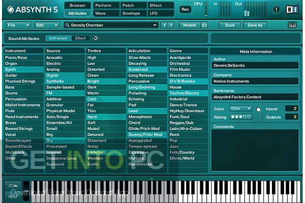 Native Instruments Absynth VSTi Latest Version Download-GetintoPC.com