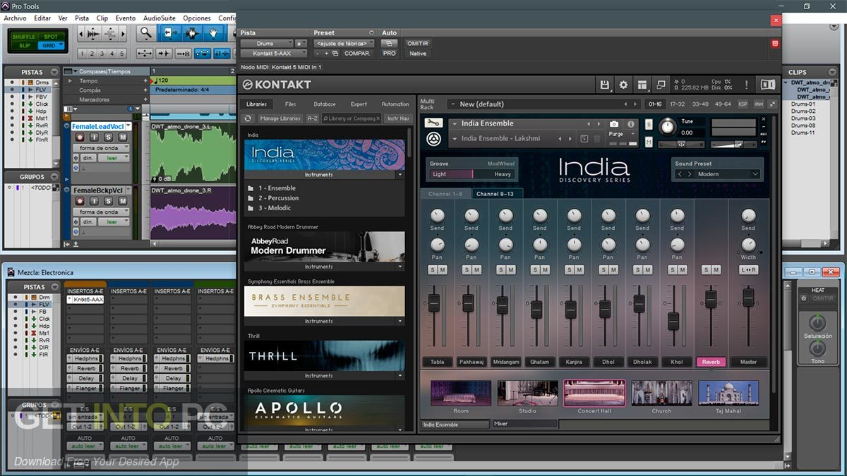 Native Instruments Discovery Series India KONTAKT Library VST Latest Version Download-GetintoPC.com