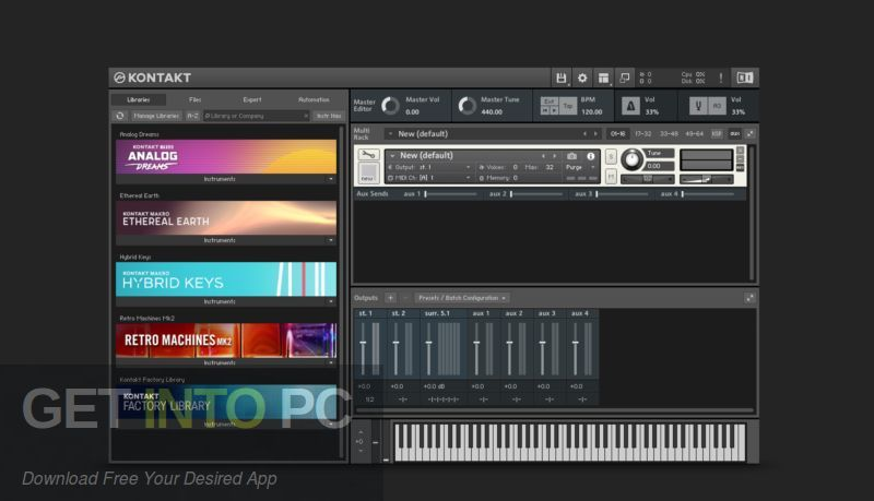 Native Instruments Kontakt 6 Latest Version Download-GetintoPC.com