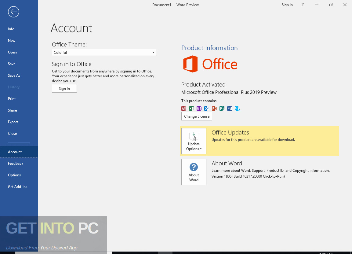 Office 2007 Enterprise + Visio Pro + Project Pro Jan 2019 offline Installer Download-GetintoPC.com