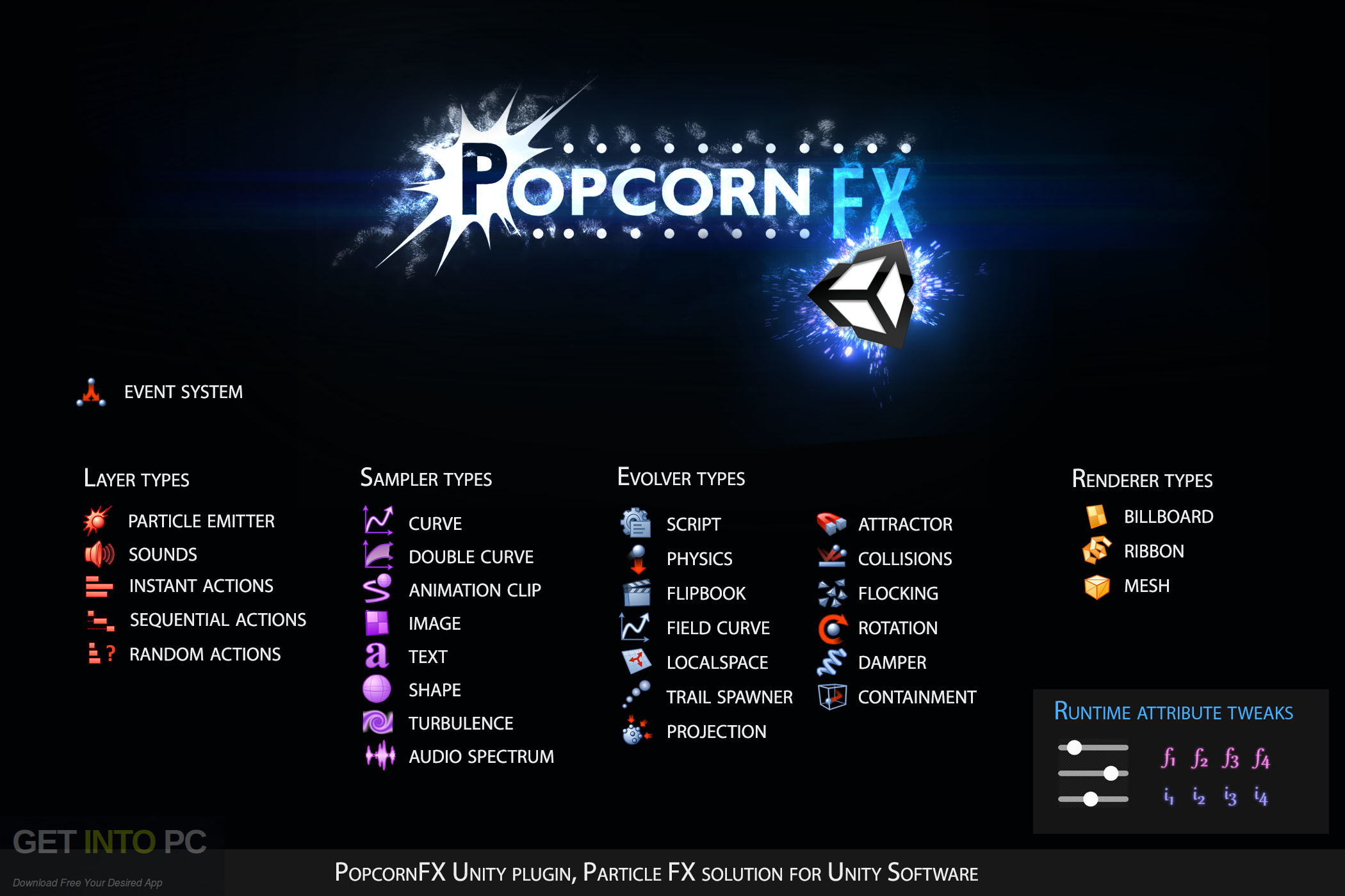 PopcornFX Particle Effects Plugin Unity Package Offline Installer Download-GetintoPC.com