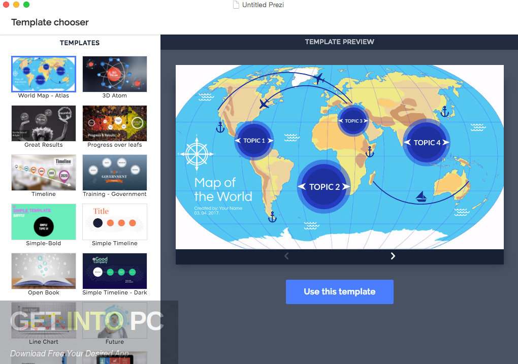 Prezi Next Offline Installer Download-GetintoPC.com