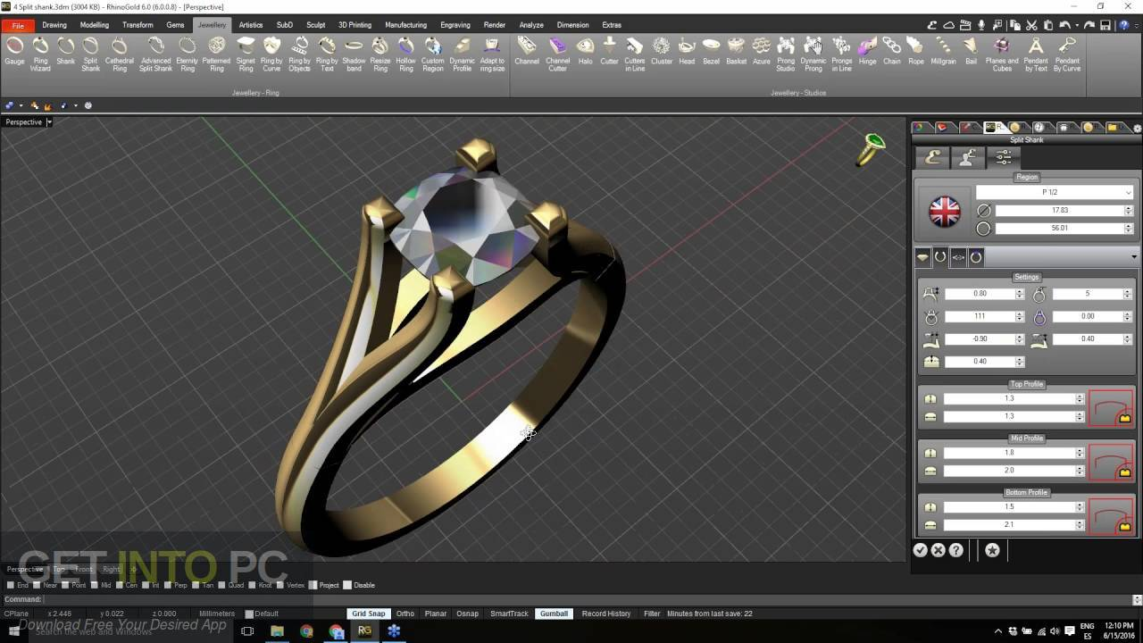 RhinoGold 6.6 Direct Link Download-GetintoPC.com