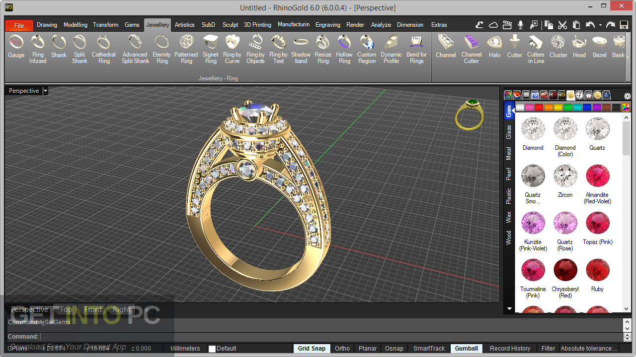 RhinoGold 6.6 Offline Installer Download-GetintoPC.com