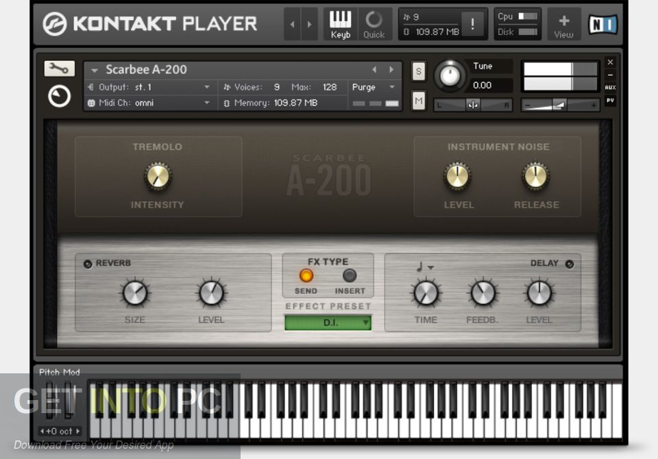 Scarbee Vintage Keys KONTAKT Library Direct Link Download-GetintoPC.com