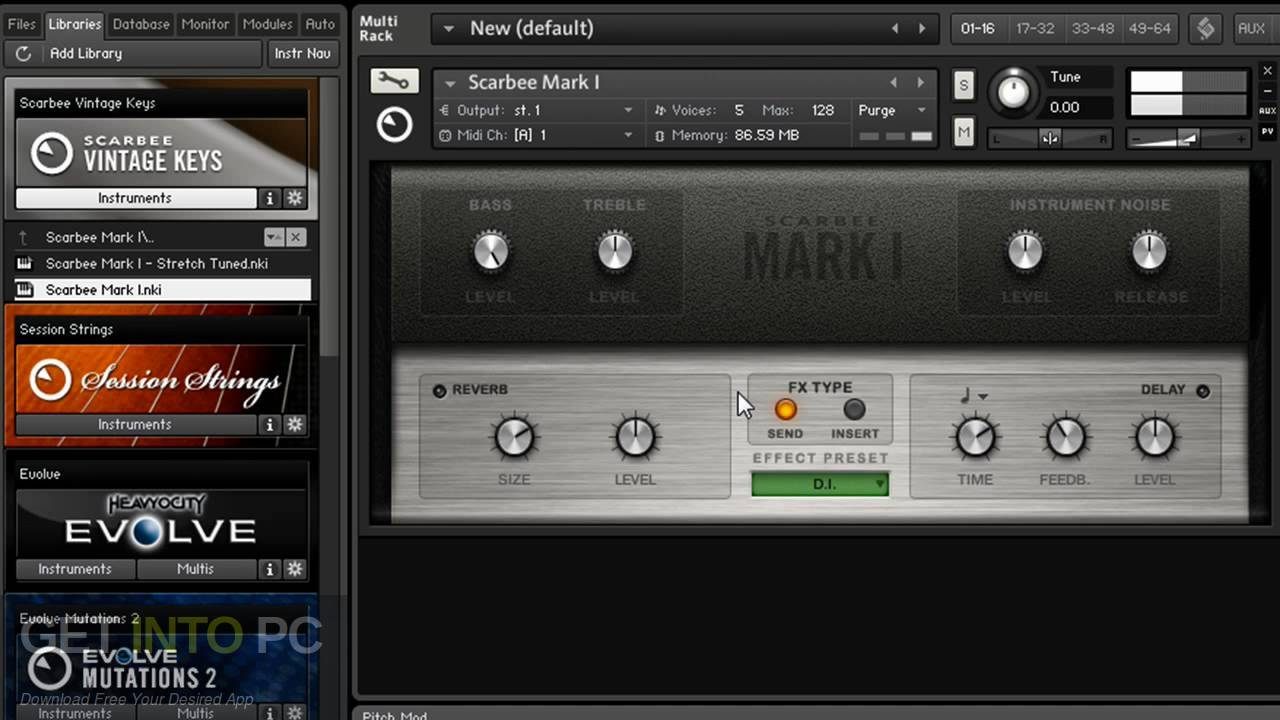 Scarbee Vintage Keys KONTAKT Library Offline Installer Download-GetintoPC.com
