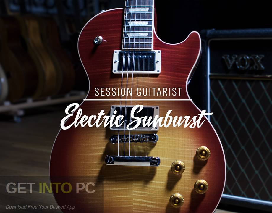Session Guitarist Electric Sunburst KONTAKT VST Library Free Download-GetintoPC.com
