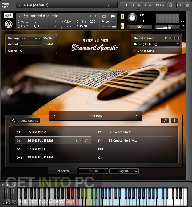 Session Guitarist Electric Sunburst KONTAKT VST Library Latest Version Download-GetintoPC.com