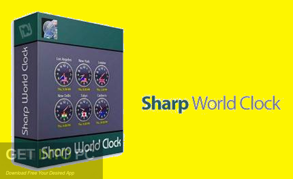 Sharp World Clock 2020 Free Download