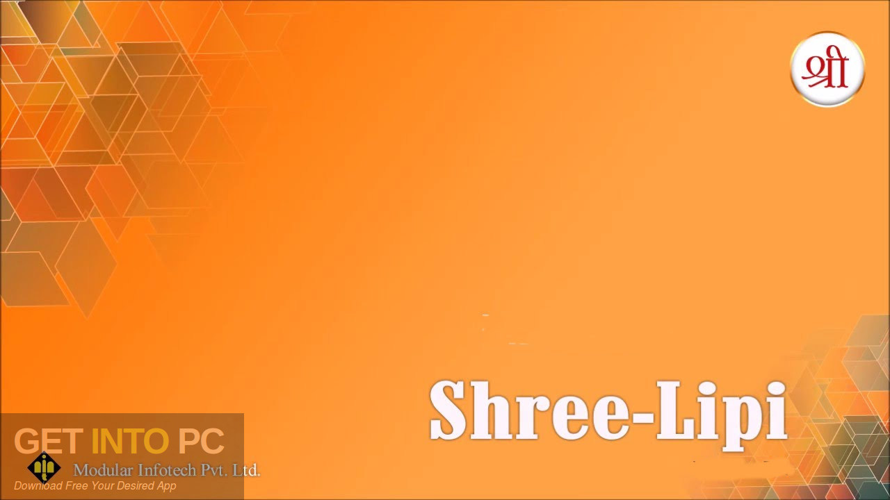 ShreeLipi Setup With All Fonts Free Download-GetintoPC.com