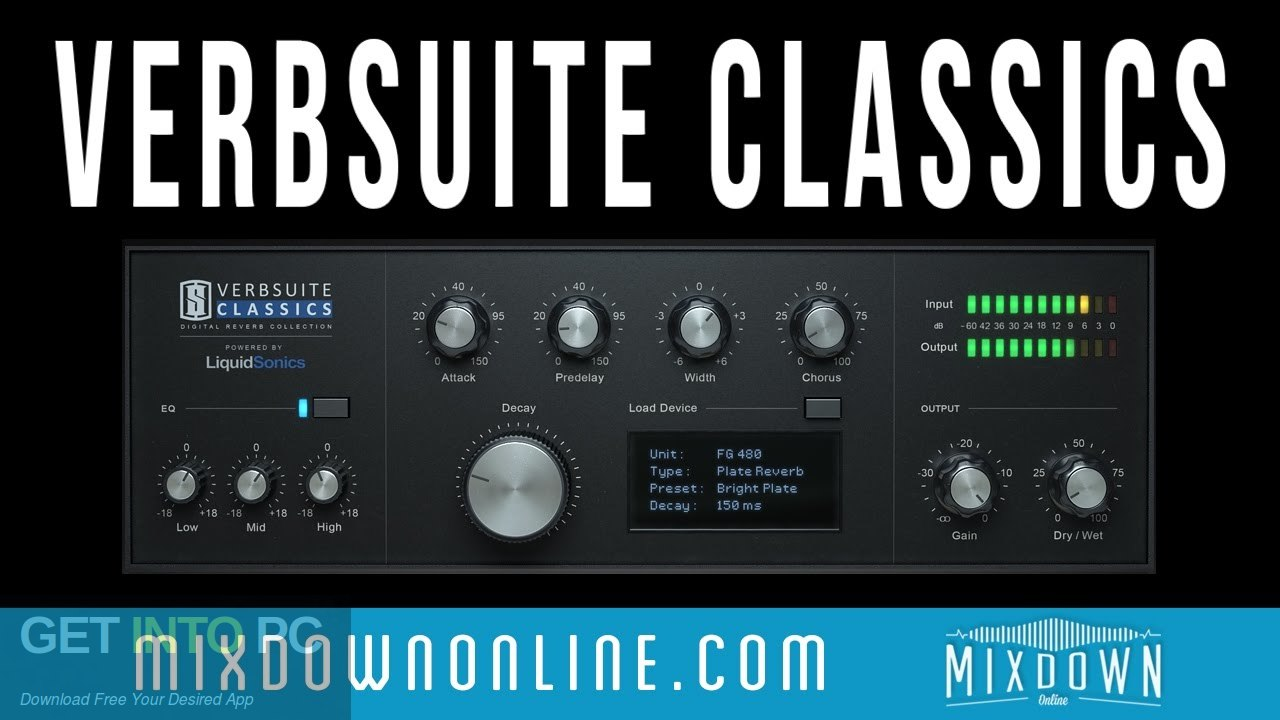 Slate Digital Verbsuite Classics Plugin Free Download-GetintoPC.com