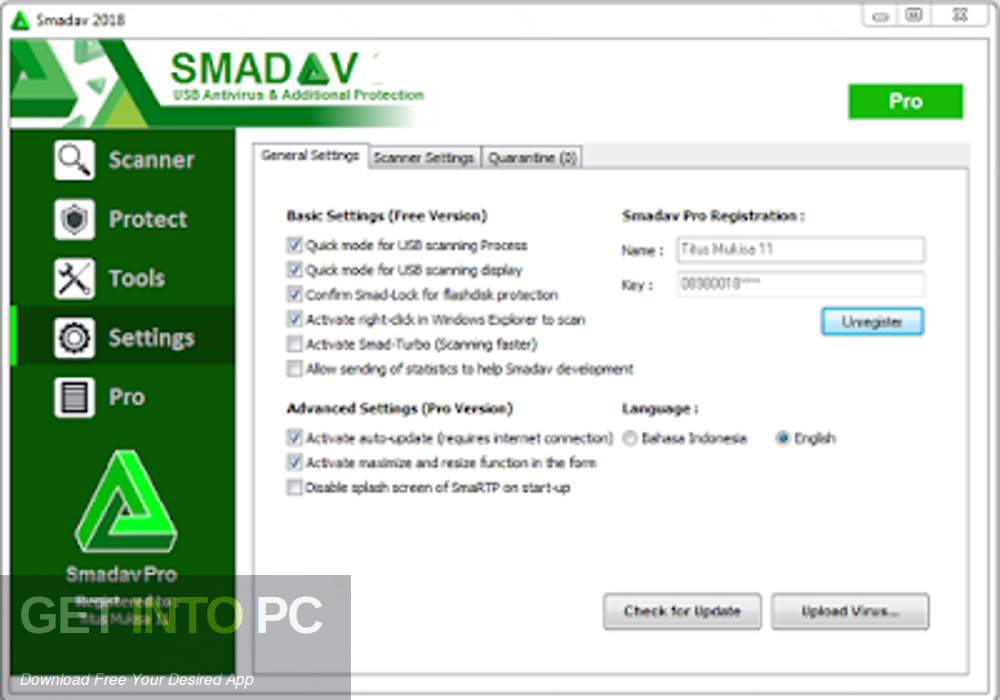 Smadav Pro 2019 Latest Version Download-GetintoPC.com