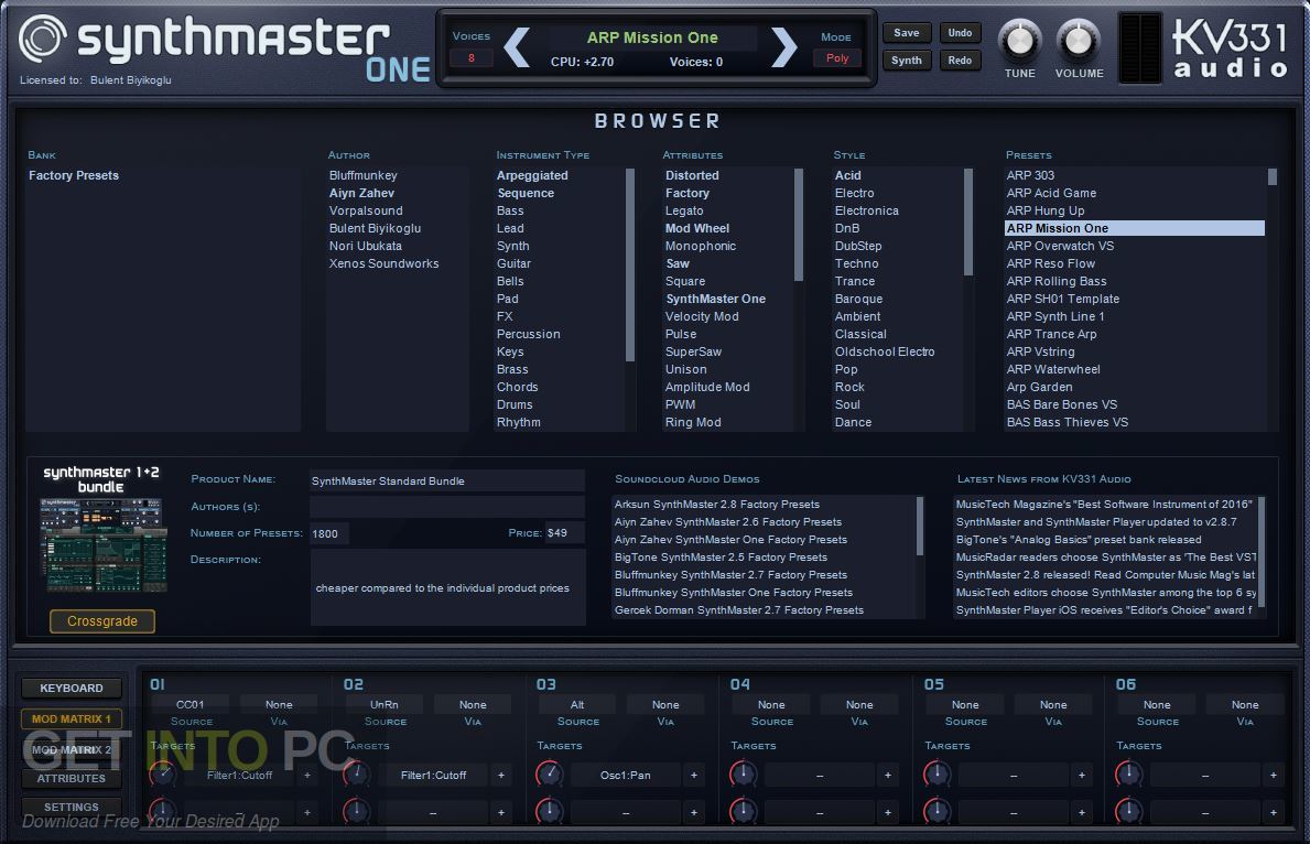 SynthMaster ONE VST Free Download
