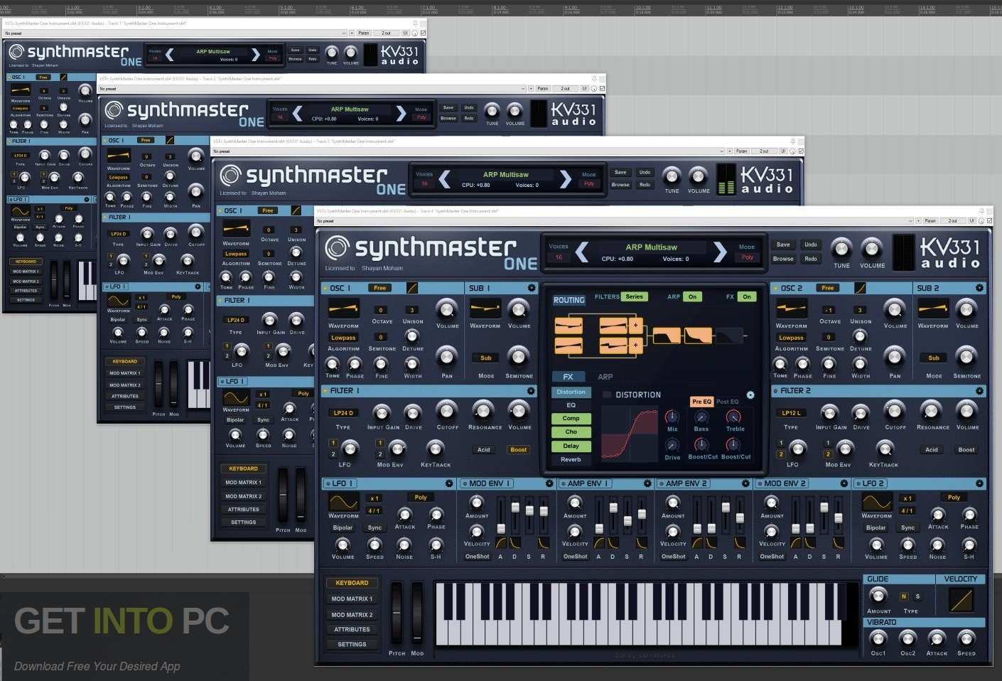SynthMaster ONE VST Offline Installer Download-GetintoPC.com