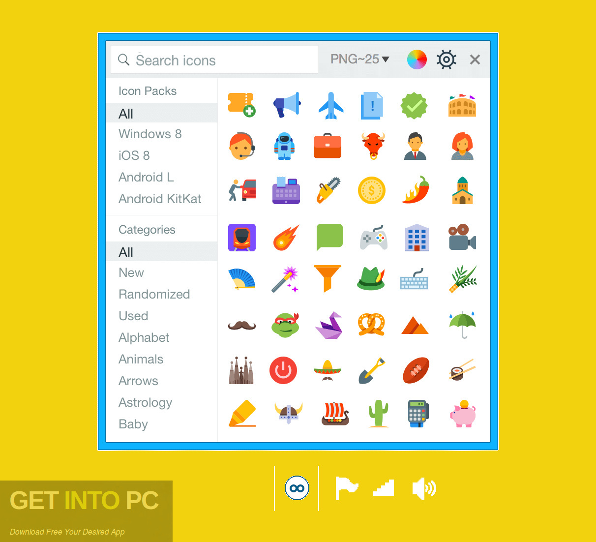 Themes and Icon Packs for Windows 10 Direct Link Download-GetintoPC.com