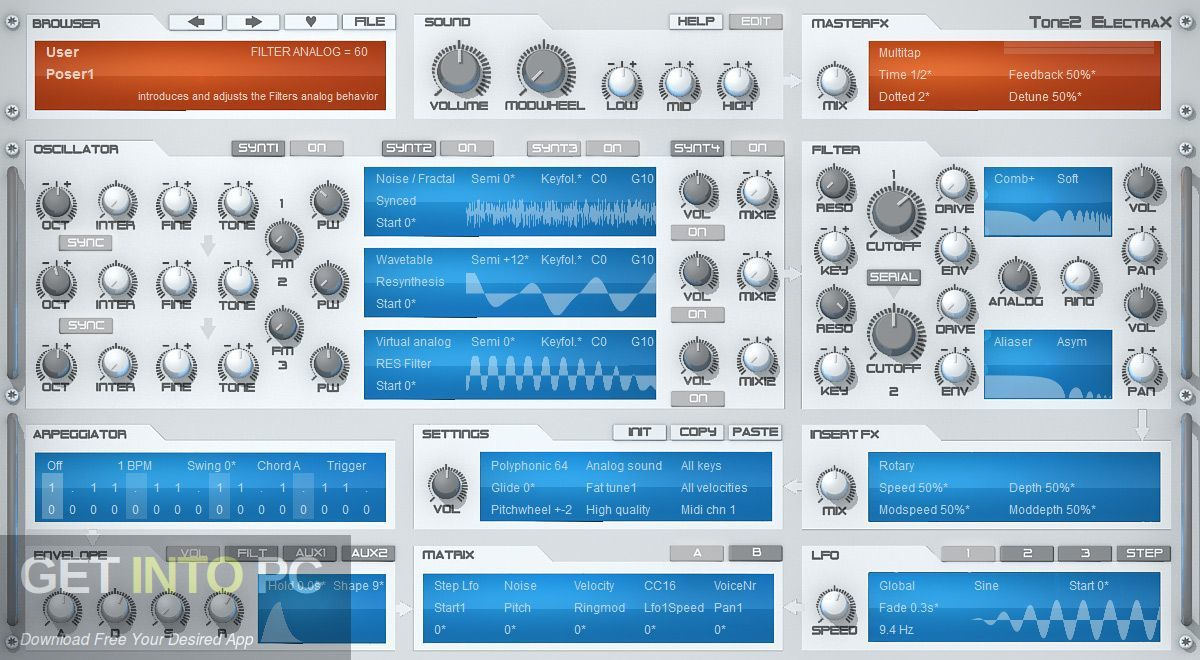 Tone2 Electra2 VST Direct Link Download-GetintoPC.com