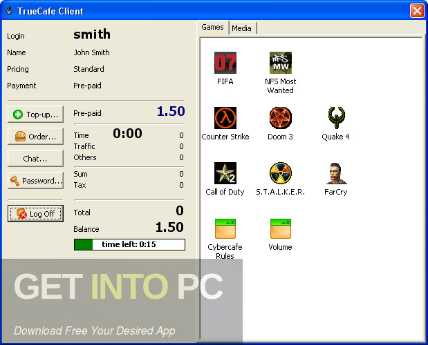 TrueCafe Internet Cafe Software Direct Link Download-GetintoPC.com