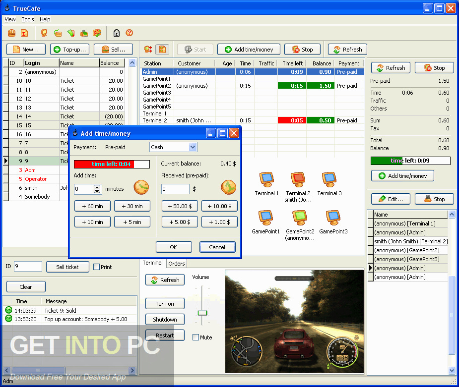 TrueCafe Internet Cafe Software Offline Installer Download-GetintoPC.com