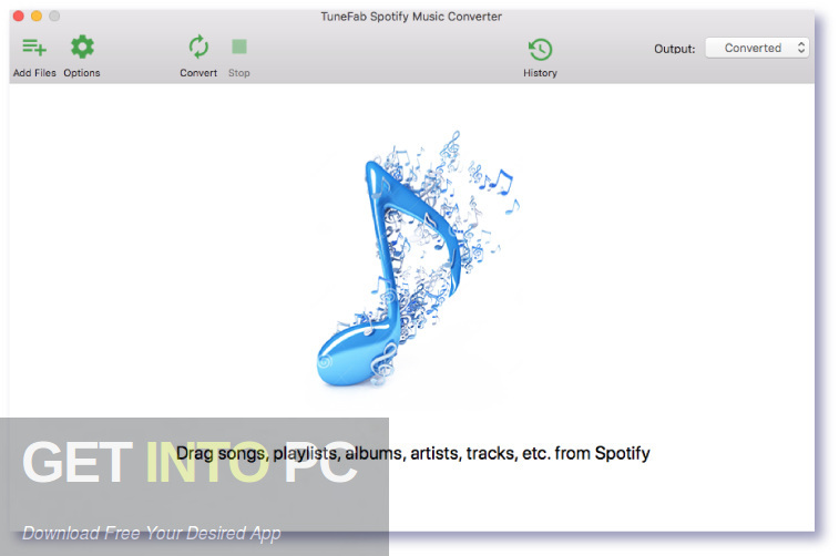 TuneFab Spotify Music Converter Latest Version Download-GetintoPC.com