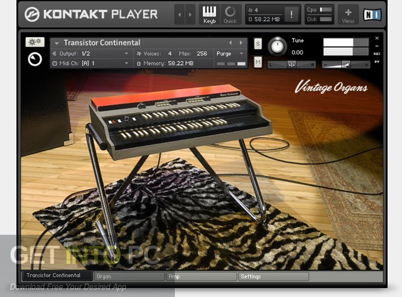 Vintage Organs Kontakt Library Direct Link Download-GetintoPC.com