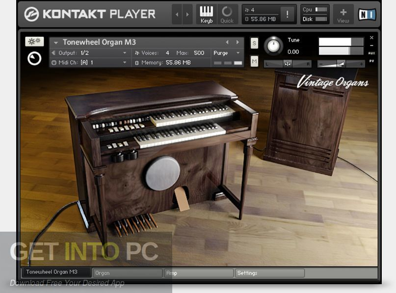 Vintage Organs Kontakt Library Latest Version Download-GetintoPC.com