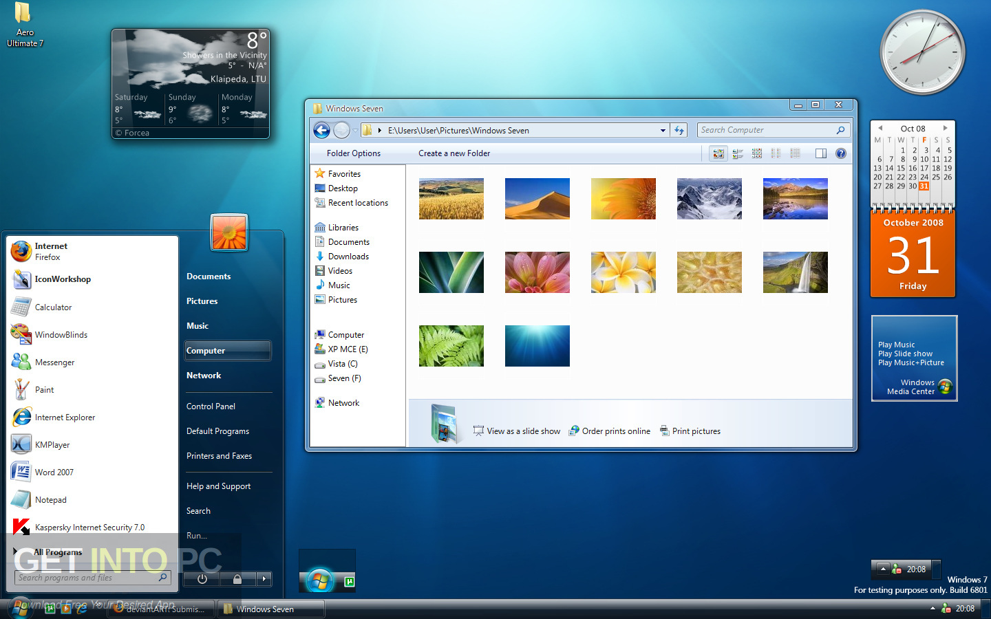 Windows 7 Ultimate 32 64 Bit Jan 2019 Latest Version Download-GetintoPC.com