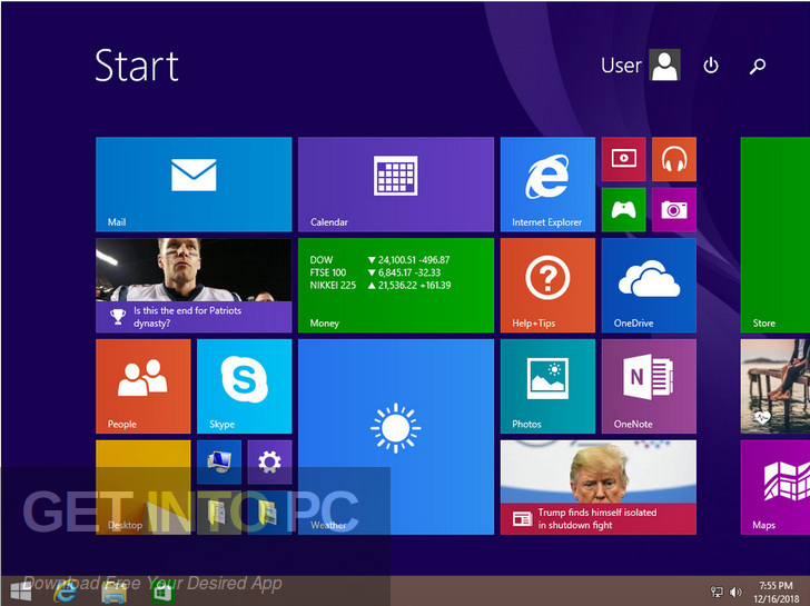 Windows 8.1 Enterprise 32 64 Bit Jan 2019 Offline Installer Download-GetintoPC.com