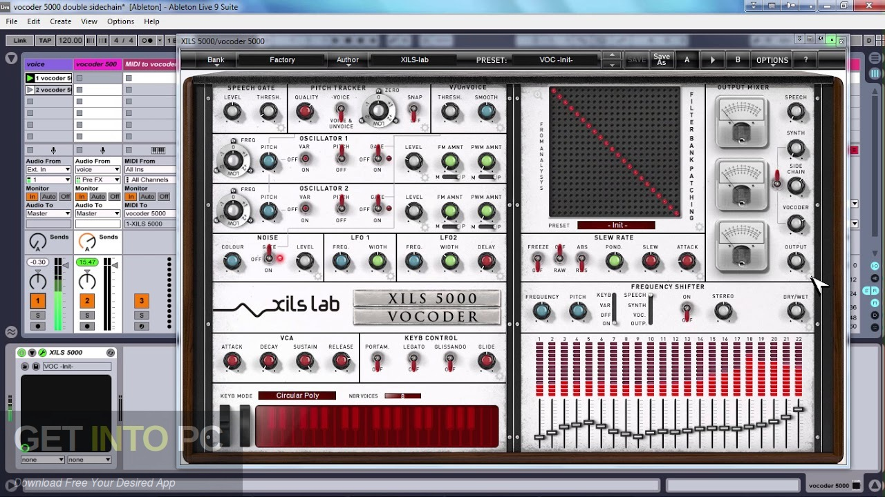 XILS Vocoder 5000 VSTs Offline Installer Download-GetintoPC.com