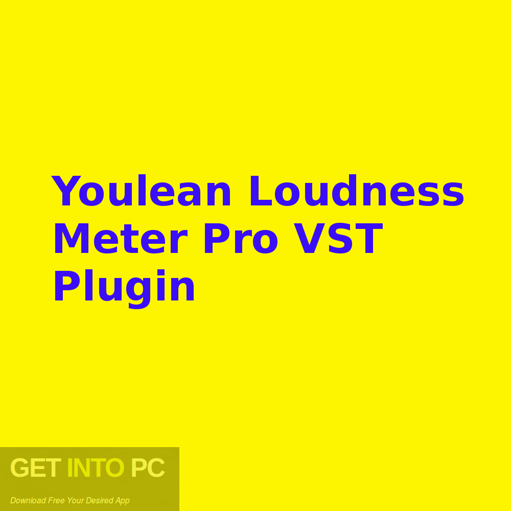 Youlean Loudness Meter Pro VST Plugin Free Download-GetintoPC.com