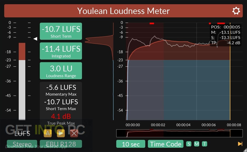 Youlean Loudness Meter Pro VST Plugin Offline Installer Download-GetintoPC.com
