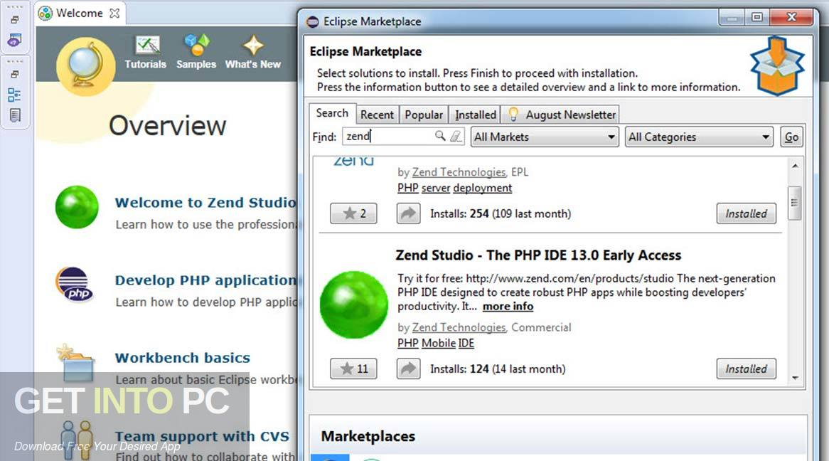 Zend Studio Offline Installer Download-GetintoPC.com