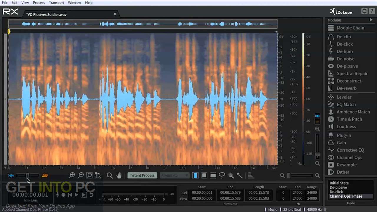 iZotope RX 7 Audio Editor Advanced VST Direct Link Download-GetintoPC.com