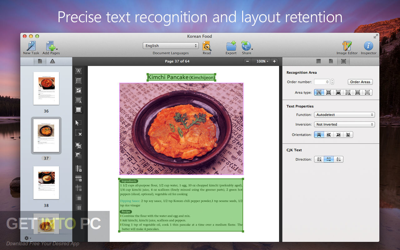 ABBYY FineReader 12.1.11 for Mac Direct Link Download-GetintoPC.com