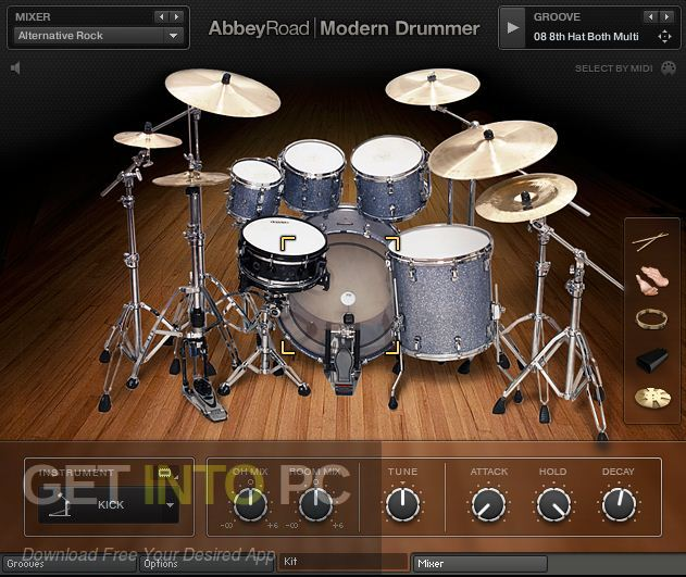 Abbey Road Modern Drummer Kontakt Library Direct Link Download-GetintoPC.com