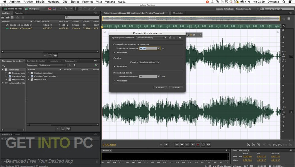 Adobe Audition CC 2019 for Mac Latest Version Download-GetintoPC.com