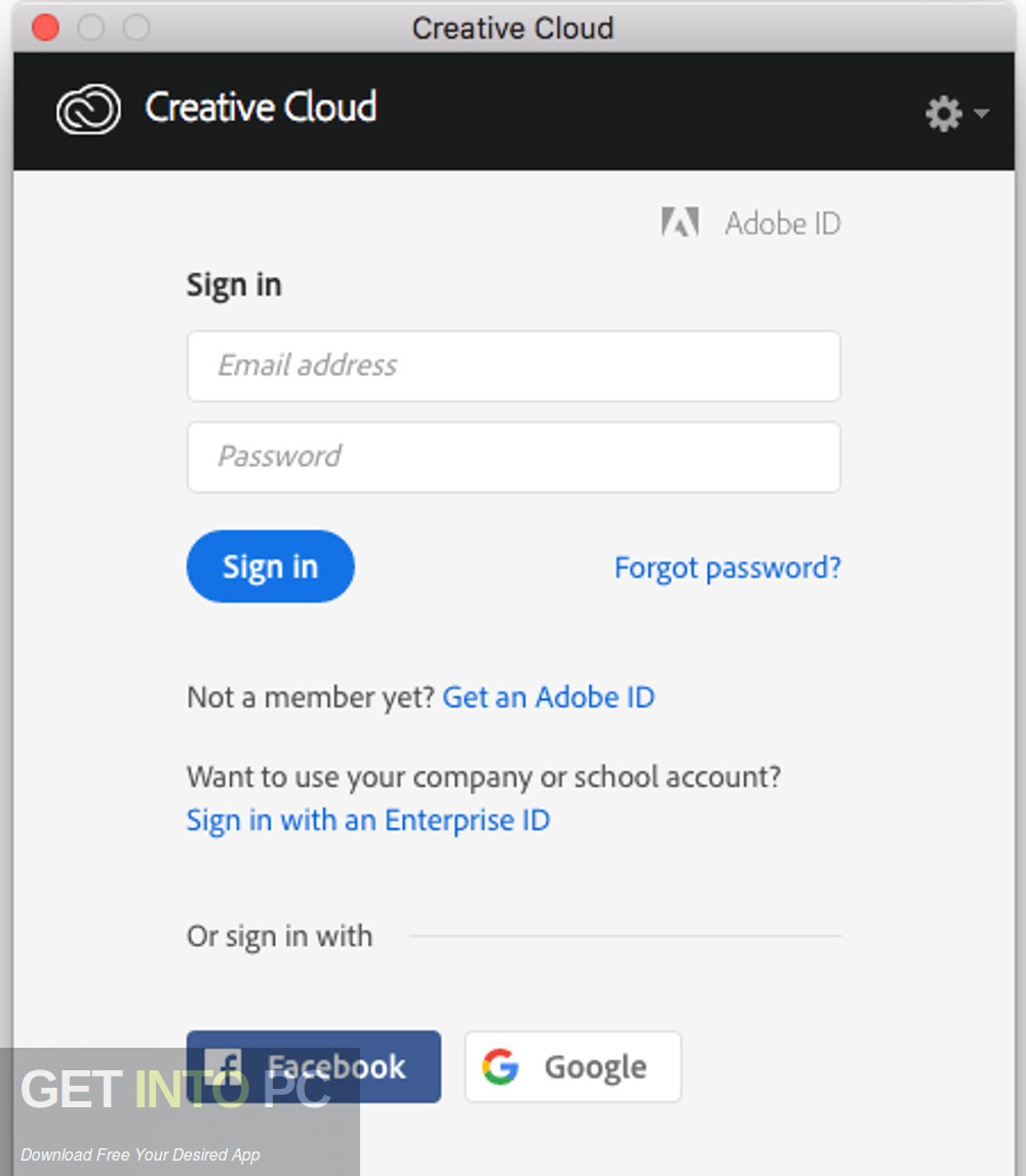 Adobe Creative Cloud Desktop Application Direct Link Download-GetintoPC.com