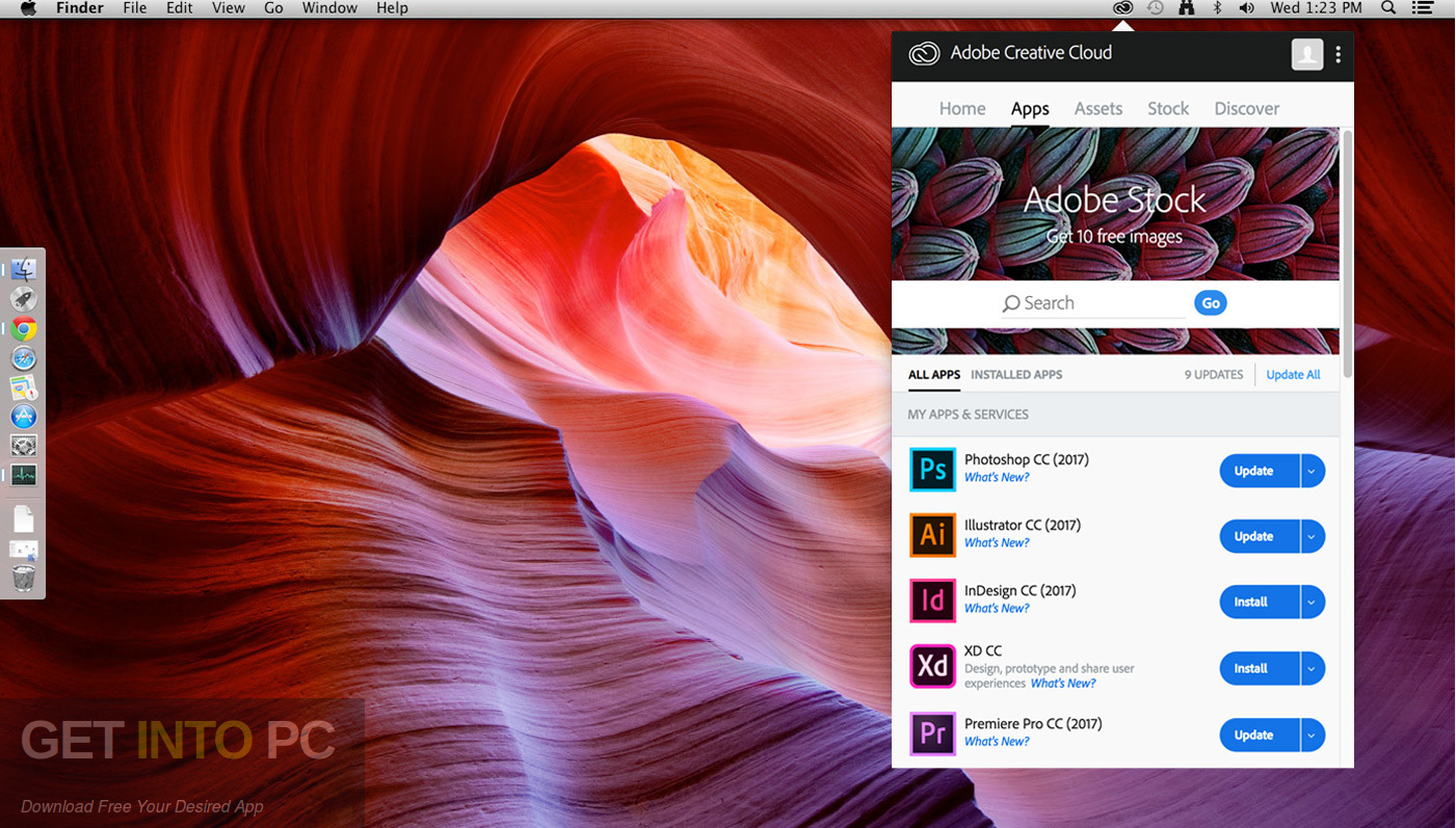 Adobe Creative Cloud Desktop Application Latest Version Download-GetintoPC.com
