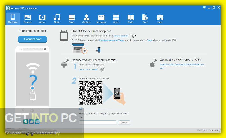 ApowerManager Phone Manager 2019 Direct Link Download-GetintoPC.com