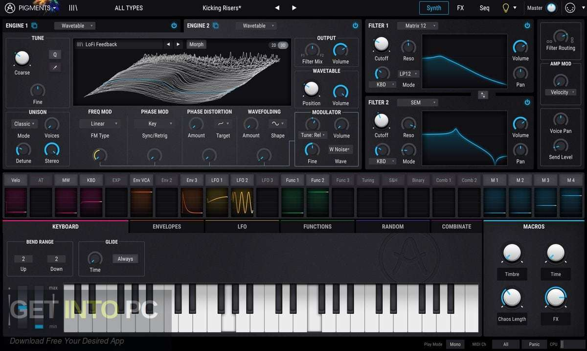 Arturia - Pigments VST Latest Version Download-GetintoPC.com