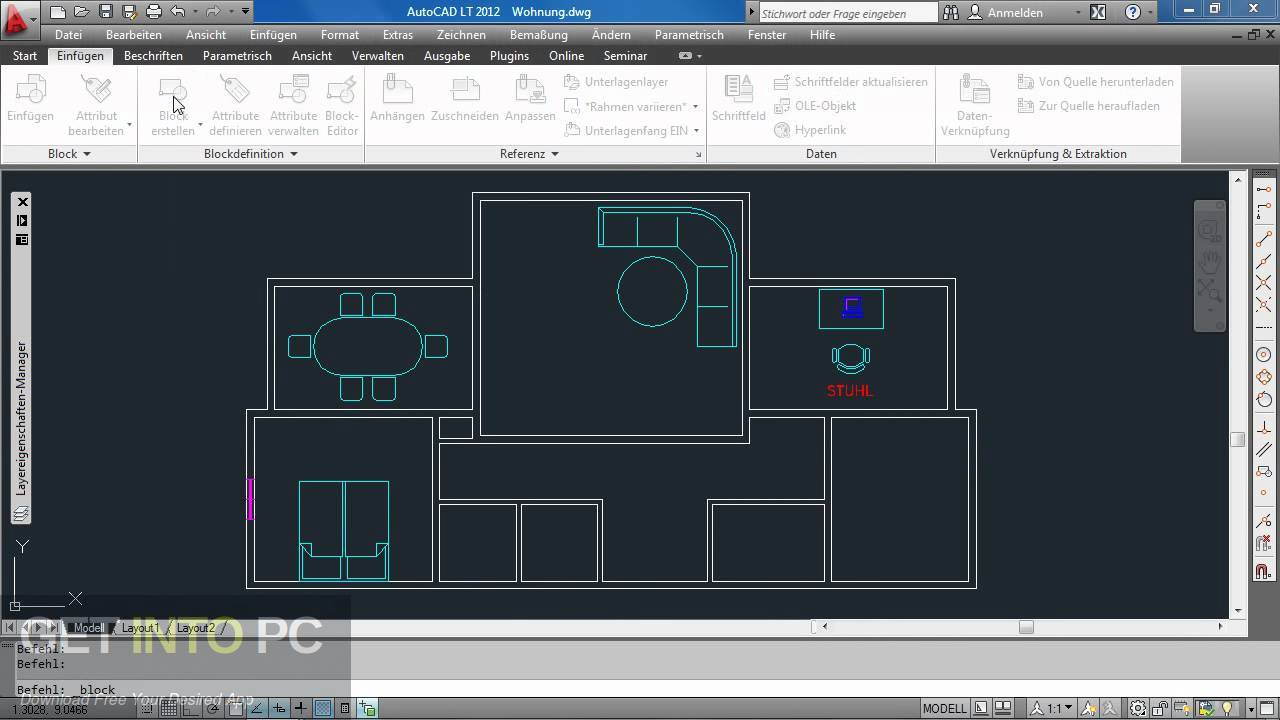 AutoCAD LT 2012 Latest Version Download-GetintoPC.com