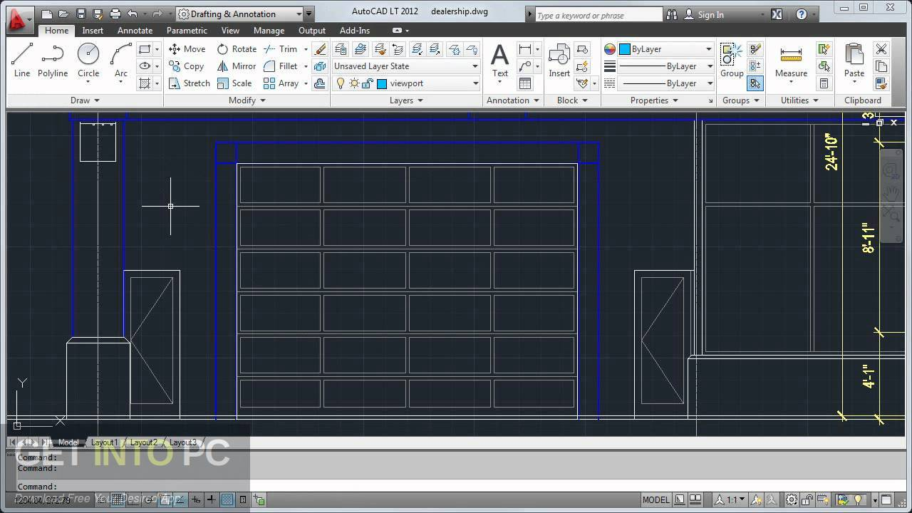 AutoCAD LT 2012 Offline Installer Download-GetintoPC.com
